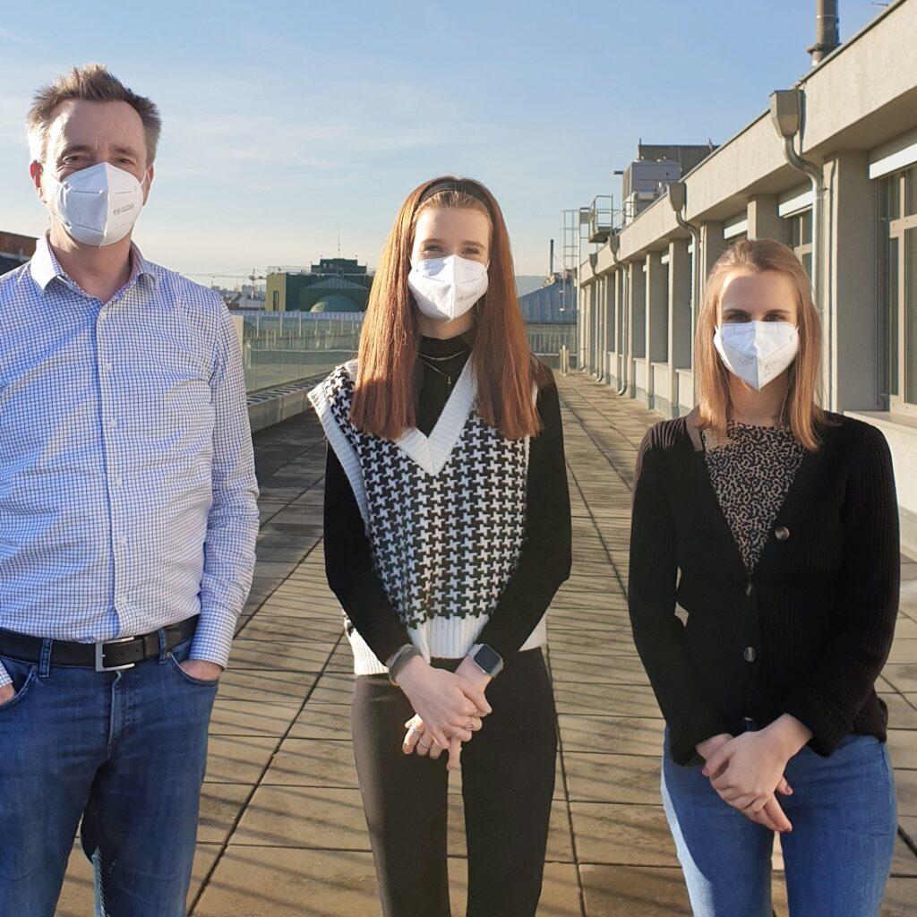 Annemijn Hofstede, Franziska Laaber, and Arnd Florack from the University of Vienna
